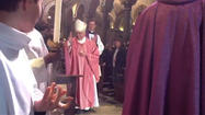 Video: Pre-conclave Mass at St. Bartholomew on Tiber Island