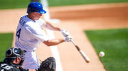 PHOENIX — We might picture Mark Ellis' 2012 Dodgers season as a smooth road, with giant bumps at each end.
