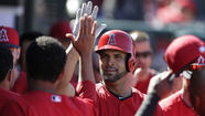 SURPRISE, Ariz. -- Good thing the Angels have another three weeks until their season opener. Based on the way the team played in Sunday's 17-11 loss to the Kansas City Royals, it has a lot of work to do before playing games that count.
