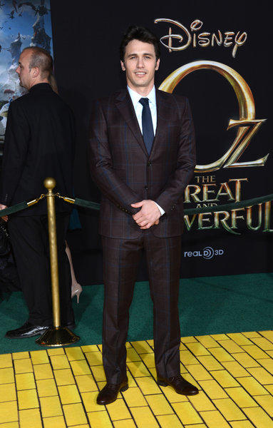 """Oz: The Great and Powerful"" star James Franco at the film's Feb. 13 premiere in Hollywood."