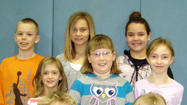 Elementary students of the month at Aberdeen Christian School