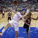 <b>Game 1: Portland 98, at Clippers 88</b>
