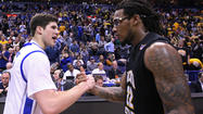 "<span style=""font-size: small;"">Wichita State only trailed by two at the half but Creighton destroyed the Shockers from the three-point line, going on to win 68 to 65.  That gives Creighton the team's second straight Valley Tournament championship.</span>"