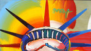 Listen to Peter Max reminisce long enough, and the painter starts to sound like the elder statesman of American pop-art itself, with his sensational tales of grabbing coffee with Paul McCartney (just last month), or shaking hands with presidents Bill Clinton and Ronald Reagan (decades ago). Then there was the time he singlehandedly led an effort, in 1981, to renovate the Statue of Liberty.