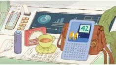 Google Doodle honors author Douglas Adams