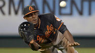 -- The Orioles made a few more cuts Monday, optioning three members of their 40-man roster to Triple-A Norfolk while bringing the number of players in big league camp to 53 with three weeks remaining in spring training.