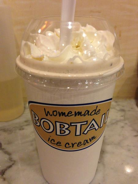 "<b>Thin Mint milkshake</b> ($4.69 regular, $5.39 large; $2.99-$3.99 Tuesdays and Thursdays) at <a href=""http://chicago.metromix.com/venues/mmxchi-bobtail-ice-cream-company-venue"">Bobtail Ice Cream Company</a>, 2951 N. Broadway  <p><b>Available until:</b> March 31 <p>This handcrafted milkshake with homemade ice cream was more of an homage to the beloved Girl Scout cookie than the St. Patty's Day treat. Mint syrup lovers need not apply; this vanilla ice cream base blended with Thin Mint Girl Scout cookies makes a flavor combination that speaks to the mild mint lovers out there. The quality of the ingredients, coupled with its hint of mint (and even a cookie at the bottom!) makes for a delicious dessert that better matches a white mint than a Shamrock flavor. --<i>Jessica Cantarelli</i>"