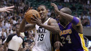 The Utah Jazz got the last laugh on veteran guard Raja Bell, 36, whom they have been feuding with all season.