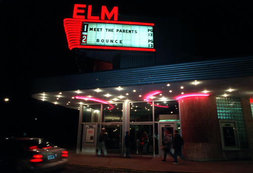 The Elm Theater in West Hartford in 2000.