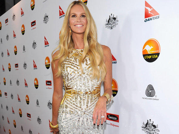 Elle Macpherson, here at the G'Day USA Los Angeles Black Tie Gala in January, is reportedly engaged.