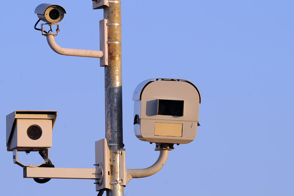 This speed cameras is on Franklin St. at Pulaski St.