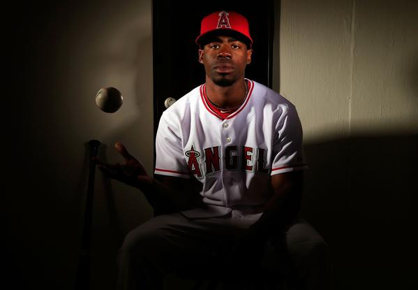 Outfielder Travis Witherspoon was optioned to double-A Arkansas by the Angels on Monday.