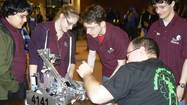 At the recent Maryland state championship for the FTC class of FIRST Robotics, the Havre de Grace High School Spears and Gears team placed 14th among 32 teams entered in the competition held at the Johns Hopkins Applied Physics Laboratory in Laurel.