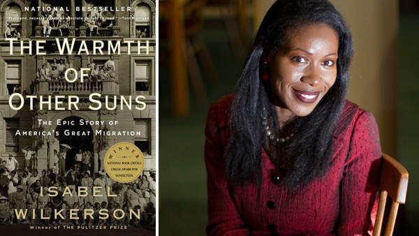 """The Warmth of Other Suns: The Epic Story of America's Great Migration,"" by Isabel Wilkerson, right, is the Chicago Public Library's latest selection for ""One Book, One Chicago."""