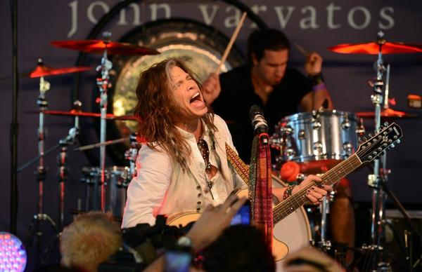 Aerosmith's Steven Tyler performs at the 10th annual Stuart House benefit, which raised $830,000 for the program that assists sexually abused children.