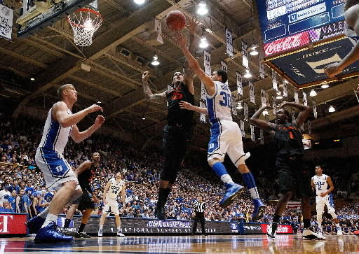 Top-seeded Miami and No. 2 Duke split regular-season meetings