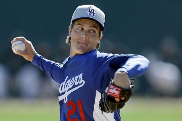 Zack Greinke Dodgers Spring Training Zack Greinke's sore el...