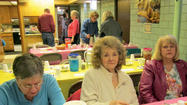 The Central City United Methodist Church offered a free soup luncheon for the community Saturday.