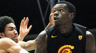 USC has suspended basketball players James Blasczyk and Dewayne Dedmon for their alleged role in an incident that happened early Sunday morning in Spokane, Wash., after the Trojans' loss to Washington State.