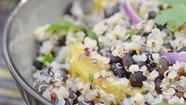 Quinoa and black beans are pillars of my pantry. In summer, I toss them into a satisfying, protein-packed salad with ripe tomatoes. At this time of year, however, I replace the tomatoes with something just as refreshing yet more seasonally appropriate: vibrant, juicy oranges.