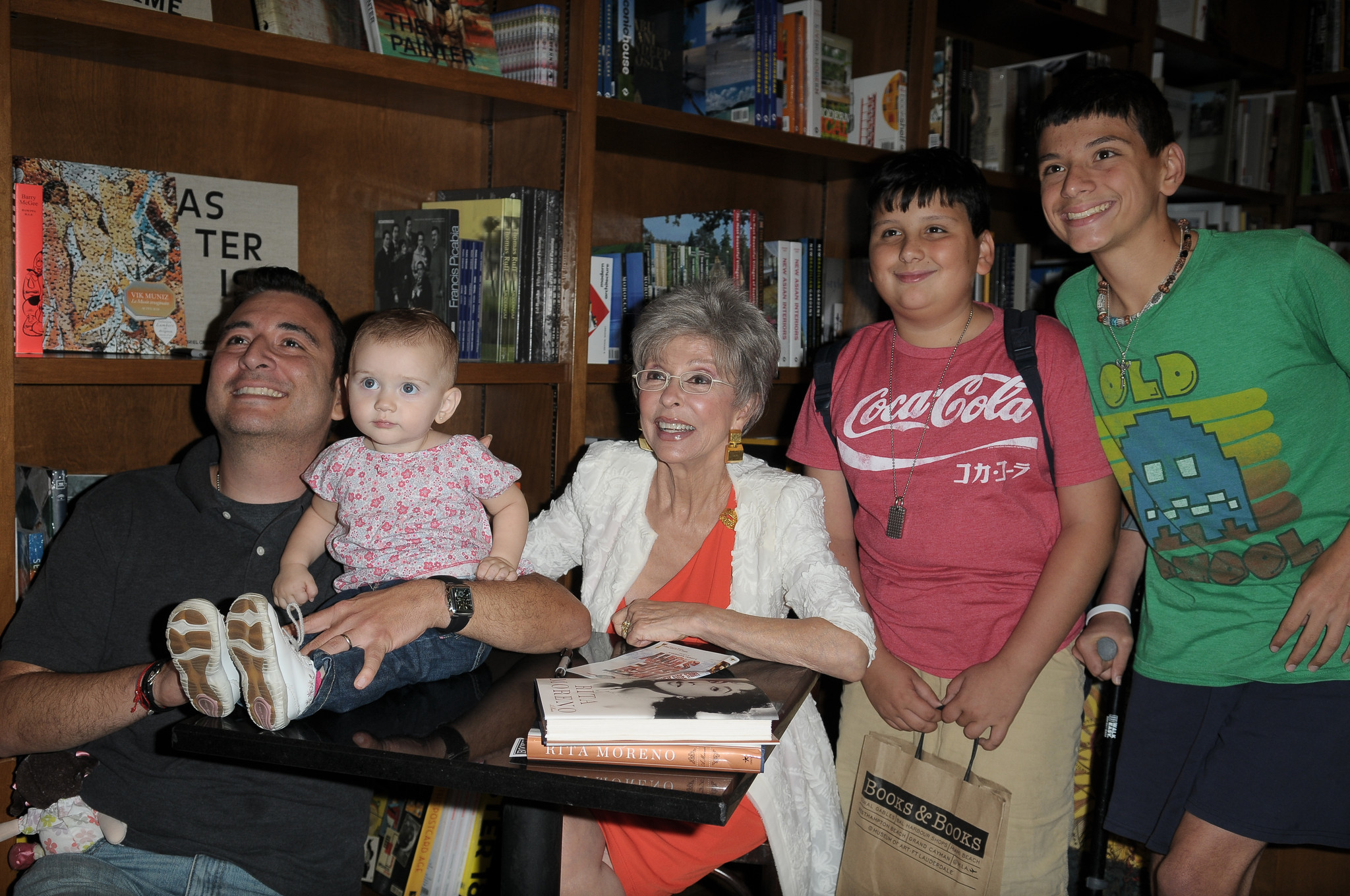 Celeb-spotting around South Florida - Rita Moreno Book Signing At Books And Books