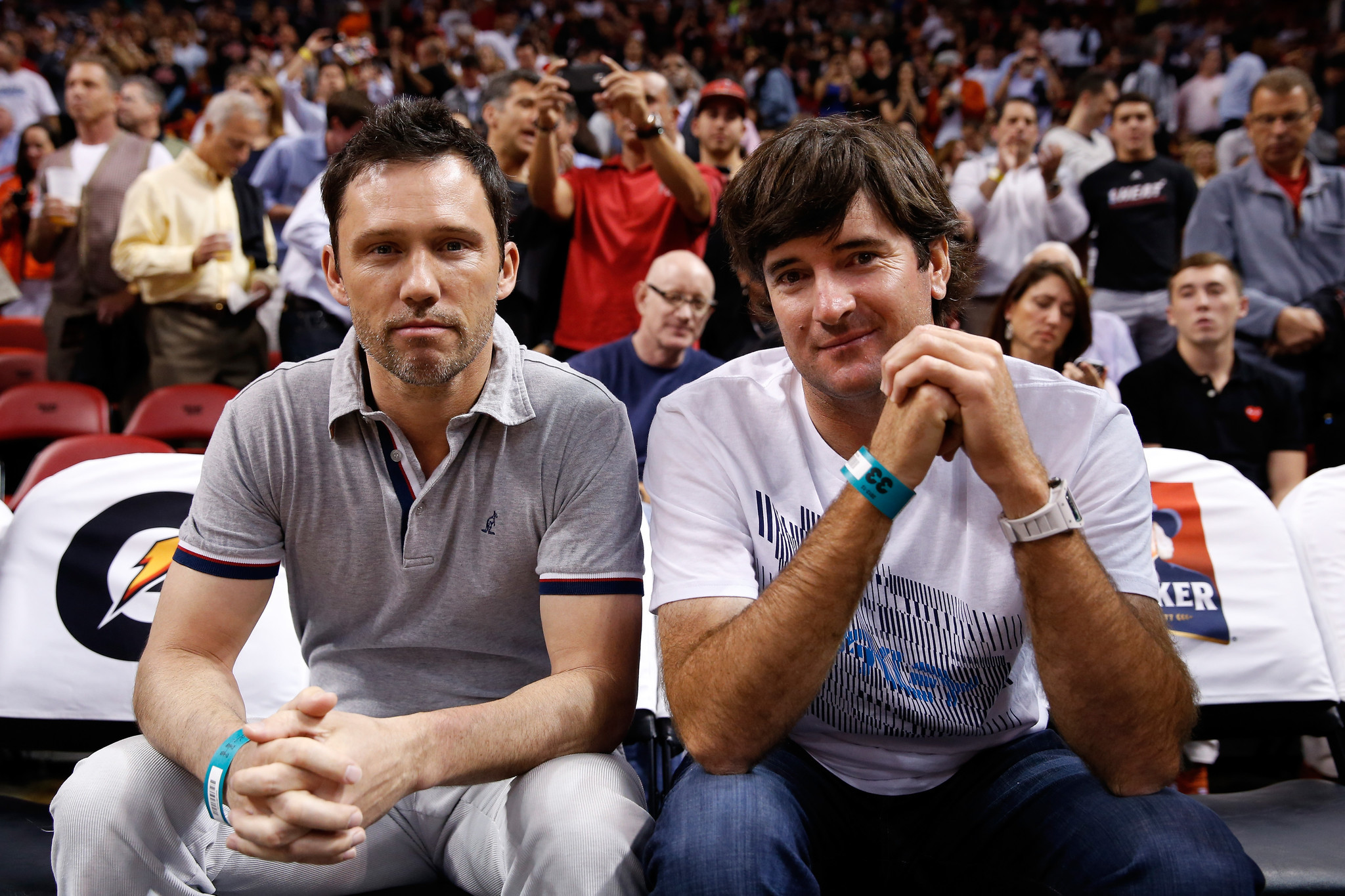 Celebs spotted at Miami Heat games - Orlando Magic v Miami Heat