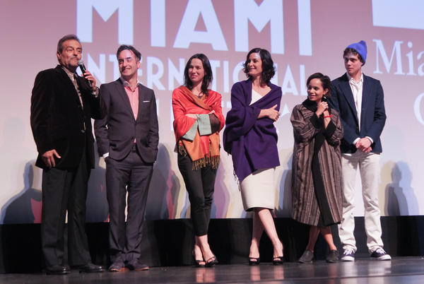 "Celeb-spotting around South Florida - MIFF 2013 - ""The Boy Who Smells Like Fish"" Screening"