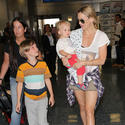 Kate Hudson Sighting At Miami International Airport - February 27, 2013