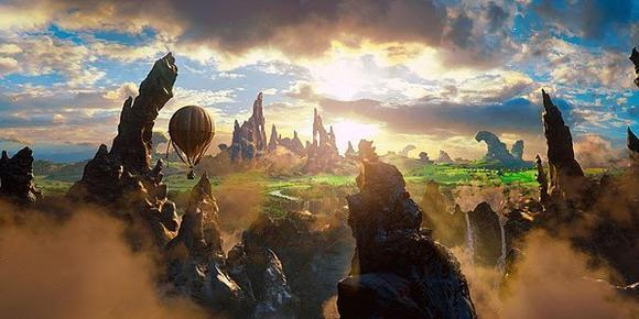 "A scene from Disney's ""Oz The Great and Powerful."""