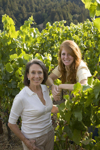 Marimar Torres of Marimar Torres Estate in the Russian River Valley and her daughter Cristina.