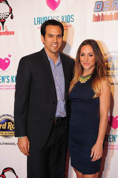 Celeb-spotting around South Florida - Erik Spoelstra and Nikki Sapp