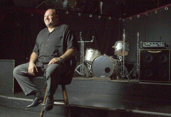 Actor James Gandolfini at the Roxy. (Robert Gauthier / Los Angeles Times)