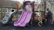 Third playground fire in Laurel at Emancipation Park Monday