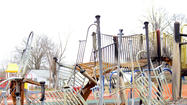Fires damage Laurel playgrounds [Pictures]