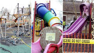 VIDEO 3 Laurel playgrounds set on fire in March