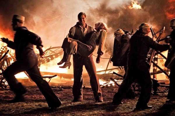 """""""Hindenburg The Last Flight"""" concludes at 8 p.m. on Encore. Pictured: Maximilian Simonichek."""