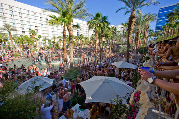 REHAB opening day 2009 at The Hard Rock Hotel & Casino