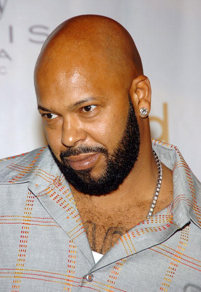 "Hip hop mogul and entrepreneur <a class=""taxInlineTagLink"" id=""PECLB005420"" title=""Suge Knight"" href=""/topic/entertainment/music/suge-knight-PECLB005420.topic"">Suge Knight</a>, who oversaw the rise of artists like Dr. Dre, <a class=""taxInlineTagLink"" id=""PECLB003669"" title=""Tupac Shakur"" href=""/topic/entertainment/music/tupac-shakur-PECLB003669.topic"">Tupac Shakur</a> and <a class=""taxInlineTagLink"" id=""PECLB001420"" title=""Snoop Dogg"" href=""/topic/entertainment/music/snoop-dogg-PECLB001420.topic"">Snoop Dogg</a>, turns 46 today. Hopefully he'll enjoy one of his trademark cigars as he celebrates his birthday. (Photo by Lawrence Lucier/FilmMagic)"