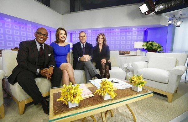 Appearing on 'Today' are Al Roker, left, Savannah Guthrie, Matt Lauer and Natalie Morales.