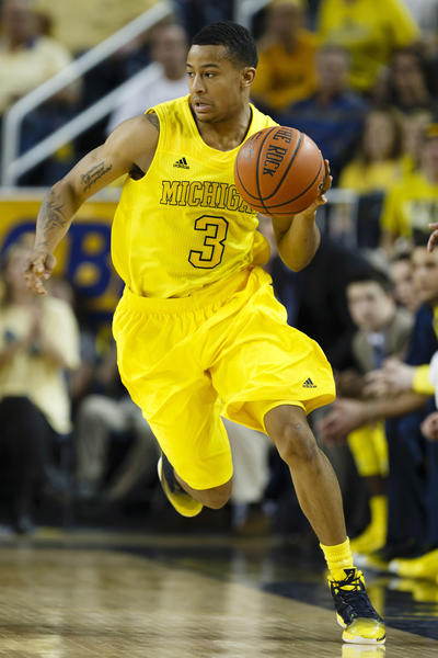 Michigan guard Trey Burke won the Big Ten's player of the year award.