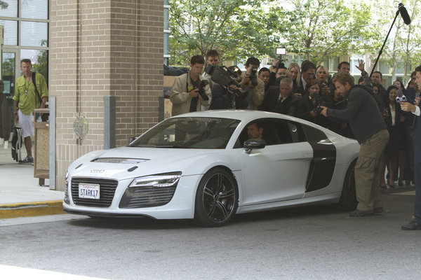 Tony Stark ditches his Acura, returns to Audi in 'Iron Man 3'