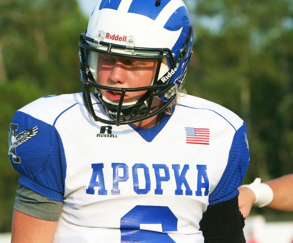 Apopka QB Zack Darlington has eight scholarship offers, the latest of which came from Nebraska.