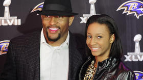 Ravens dress up, show off at DVD premiere