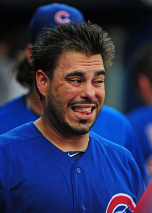 The Cubs sent the catcher to Texas for minor league pitcher Jacob Brigham.