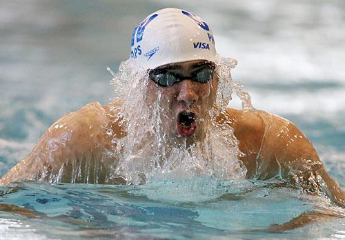 Phelps returns from injury