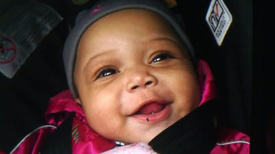 Baby's shooting death leaves city stricken