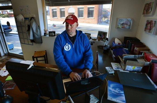 "Brian OliverSmith, chief executive of Urban Planet Mobile in Durham, N.C., said he was concerned about the effects of the deal in Congress to resolve the ""fiscal cliff"" would have on his small business payroll."