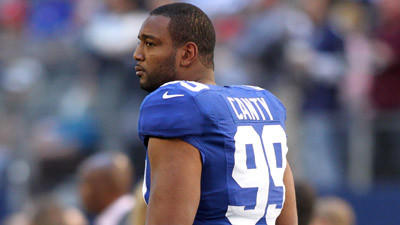 Former Giants defensive lineman Chris Canty visiting Ravens tod…