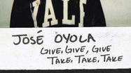 Album of the Day 3/12/13: Jose Oyola - Give, Give, Give. Take, Take, Take.