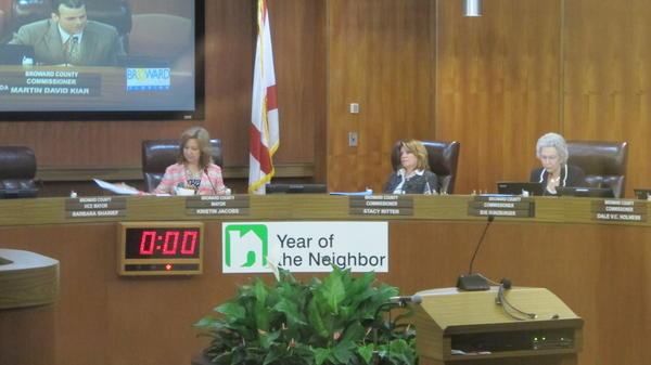 Broward Mayor Kristin Jacobs calls this the Year of the Neighbor.